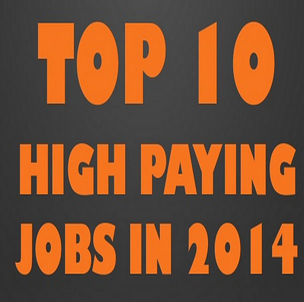 Top 10 Highest Paying Jobs