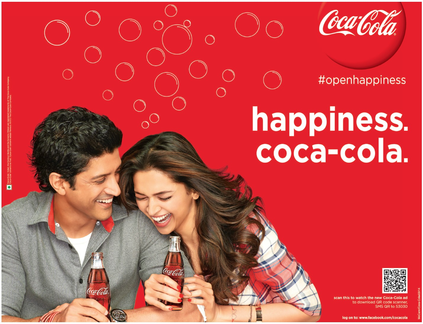 open happiness with coca cola